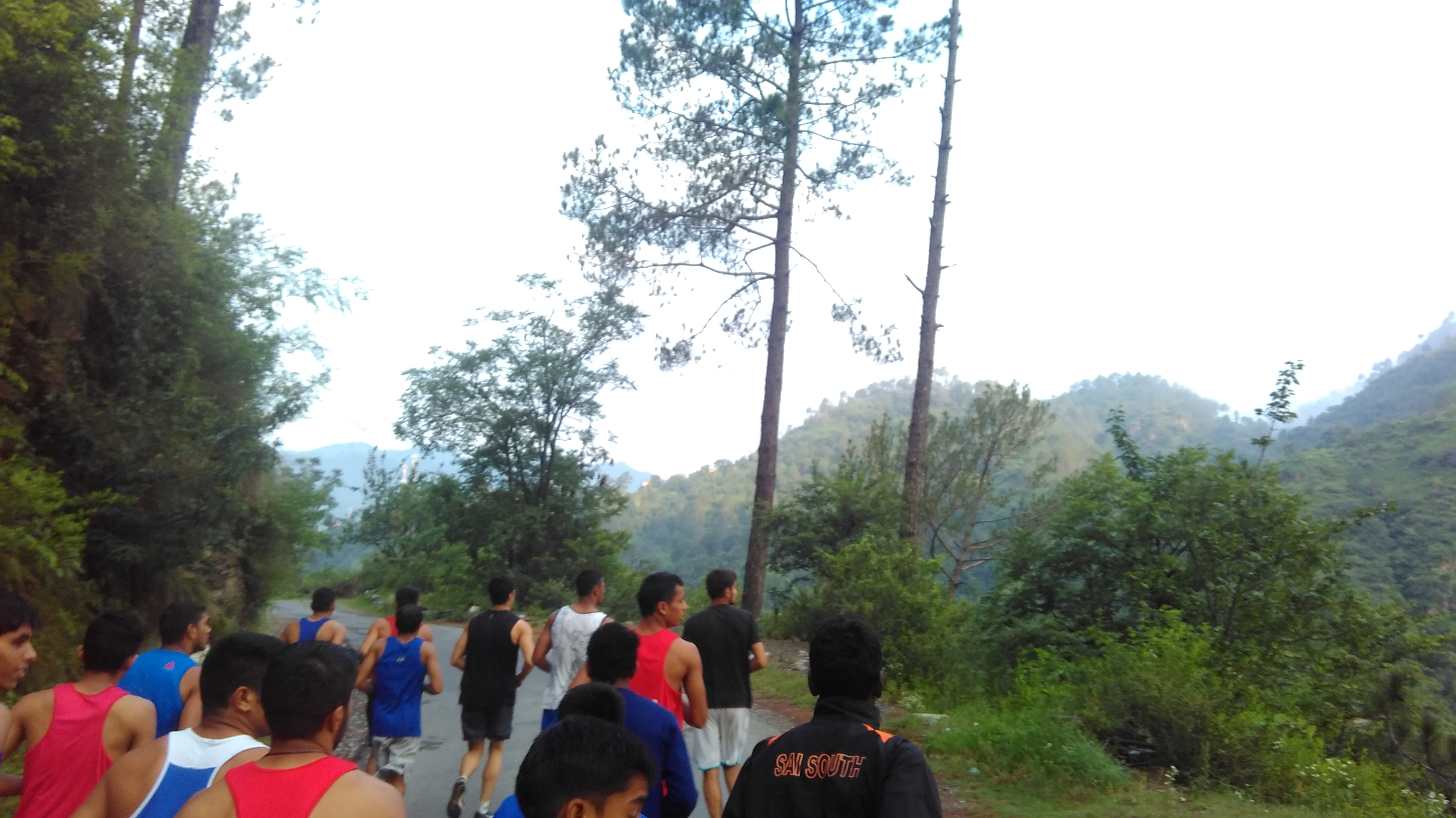 Sports Authority of India National Boxing Academy Rohtak's Trainees During Their Cross Country Run to Chail-2